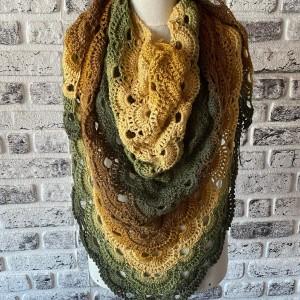 روسری بافتنی یارن مدل HI-IIH