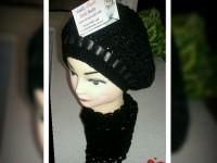 دستمال گردن-کلاه قلاب بافی