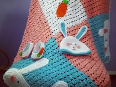 پتو نوزادی مدل Rabbitکد566