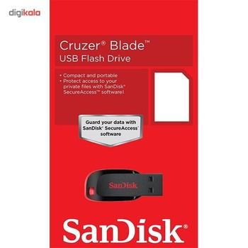 فلش مموری سن دیسک مدل Cruzer Blade CZ50 ظرفیت 32 گیگابایت
