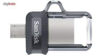 فلش مموری سن دیسک مدل Ultra Dual Drive M3.0 ظرفیت 128 گیگابایت