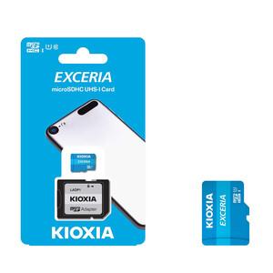 کارت حافظه microSDHC کیوکسیا مدل EXCERIA کلاس 10 استاندارد UHS-I U1 سرعت 100MBps ظرفیت 16 گیگابایت به همراه آداپتور SD