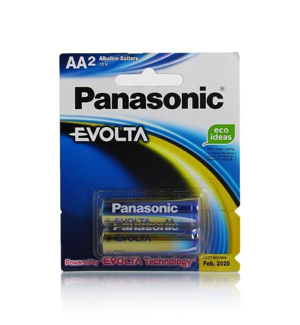 باتری قلمی پاناسونیک مدل High-Tech Alkaline Evolta  1.5V