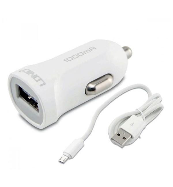 شارژر فندکی الدینیو LDINIO DL-C17 همراه با کابل Micro USB