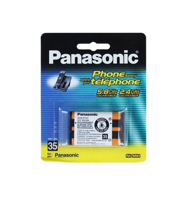 باتری اورجینال تلفن بیسیم پاناسونیک مدل HHR-P107