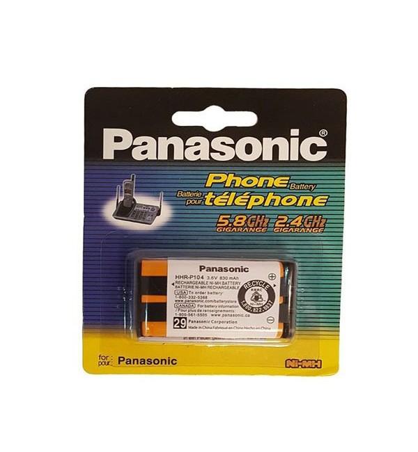 باتری اورجینال تلفن بیسیم پاناسونیک مدل HHR-P104  با کیفیت عالی