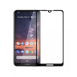 محافظ صفحه نمایش فول چسب، گلس، مناسب برای گوشی موبایل نوکیا 8.1plus
