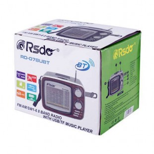اسپیکر و رادیو ار اس دی مدل RSD RD-078UBT