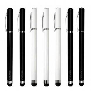 قلم لمسی اوزاکی مدل استایلوس جهت کار با موبایل و تبلت دومنظوره OZAKI Stylus Touch Pen