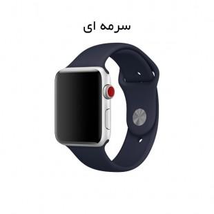 بند سیلیکونی اپل واچ Apple Watch Band 38/40mm