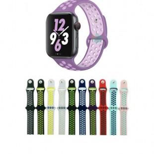 بند سیلیکونی اپل واچ طرح نایک اسپرت Apple Watch Nike Sport Band 38mm