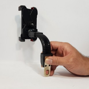 پایه نگهدارنده موبایل مناسب موتور و دوچرخه چهار گوشه