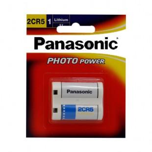 باتری لیتیومی پاناسونیک مدل Panasonic 2CR5
