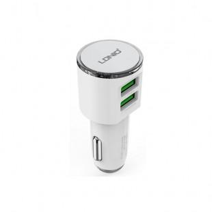 شارژر فندکی الدینیو مدل LDNIO DL-C29 همراه با کابل Micro USB
