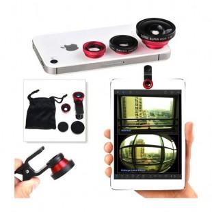 لنز سه کاره عکاسی با موبایل Universal