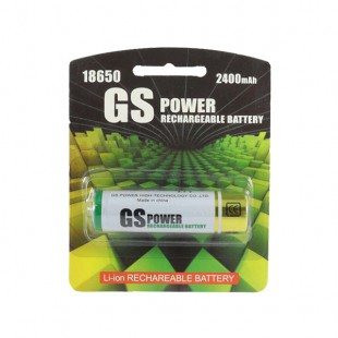 باتری 18650 لیتیوم GS Power