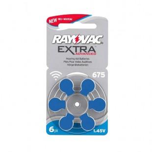 باتری سمعک ریواک Rayovac 675