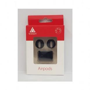 کاور دورگوشی و  نگهدارنده ایرپاد روی اپل واچ AirPods Band Holder مدل Bikson