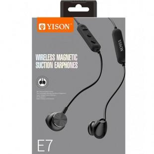 هدفون وایرلس وایسون مدل Yison wireless magnetic suction Earphone E7