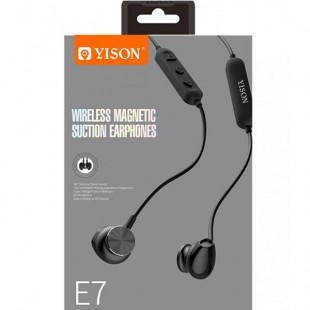 مشخصات هدفون وایرلس وایسون مدل Yison wireless magnetic suction Earphone E7