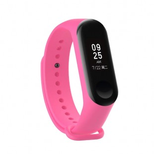 بند سیلیکونی رنگی دستبند سلامتی شیائومی مدل Mi Band 3 و Mi Band 4