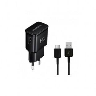 شارژر و کابل اصلی سامسونگ به همراه کابل یواس بی سی Samsung Fast Charging With Type-C Cable