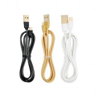 کابل تبدیل USB به لایتنینگ ریمکس مدل RC-041i Radiance Flat به طول 1 متر