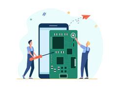 تعمیر موبایل و تبلت