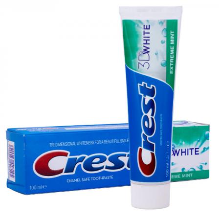 خمیر دندان سفید کننده کرست مدل 3D WHITE