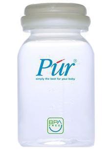 بطری نگهداری شیر مادر در یخچال و فریزر