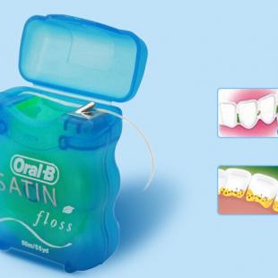 نخ دندان اورال بی مدل SATIN ( بسته 2 عددی )