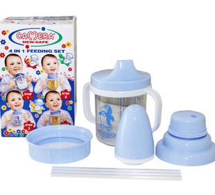 شیشه چهار کاره کودک و نوزاد کمرا