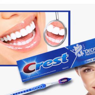 خمیر دندان ضد پوسیدگی کرست 100ml