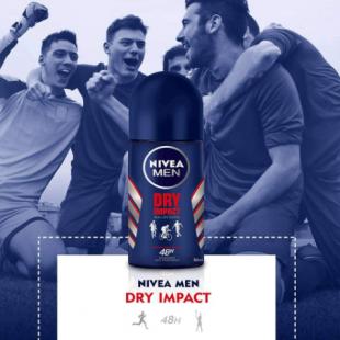 مام رول درای ایمپکت مردانه نیوا (NIVEA MEN DRY IMPACT )