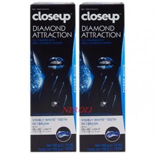 خمیر دندان سفید کننده کلوزآپ مدلDIAMOND ATTRACTION ( بسته 2 عددی )