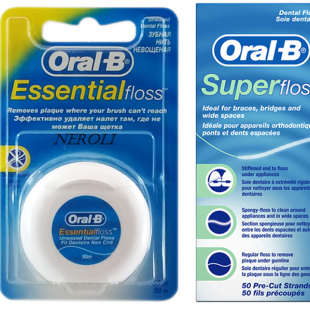 نخ دندان اورال بی بدون طعم ( بسته 2 عددی ترکیبی )