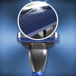 خودتراش ژیلت مدل  Gillette MACH3 TURBO 3D