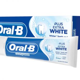 خمیر دندان اورال بی کامپلت نعناعی مدل PLUS EXTRA WHITE