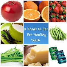 8 غذا و نوشیدنی مفید برای دندان ها
