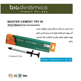 MASTER CEMENT TRY IN