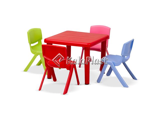 ست میز و صندلی کودک 4 نفره سحر