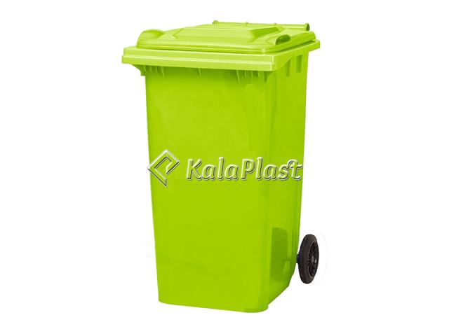 سطل زباله پلاستیکی 240 لیتری چرخدار سبلان