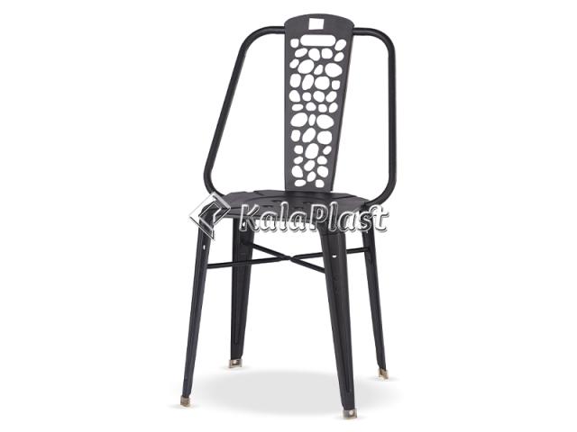 صندلی تمام فلزی نوید مدل سنگ