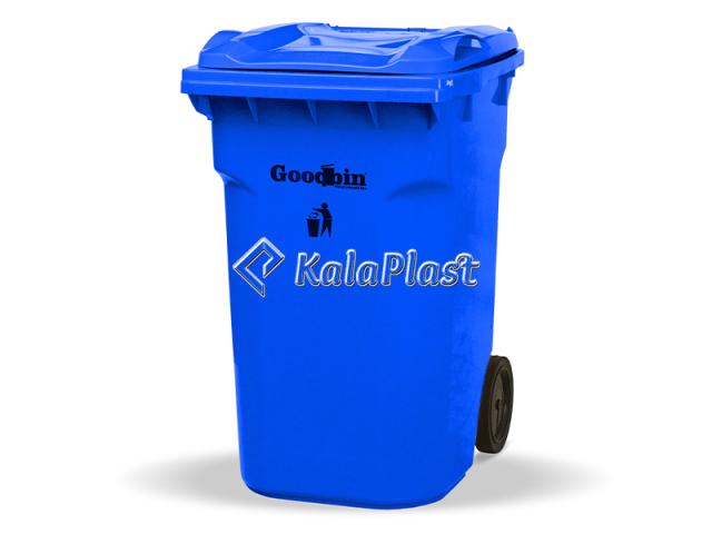 سطل زباله پلاستیکی چرخدار 360 لیتری