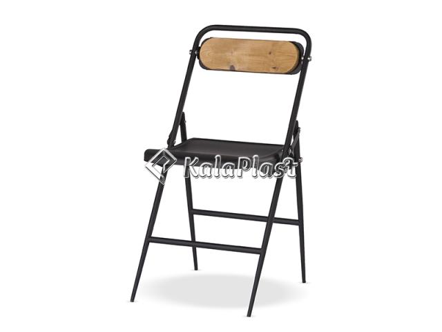 صندلی فلزی تاشو