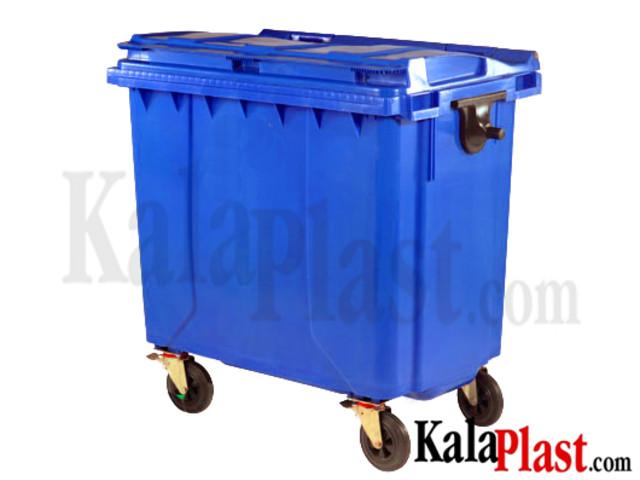 سطل زباله 770 لیتری مکانیزه پلی اتیلن شهری