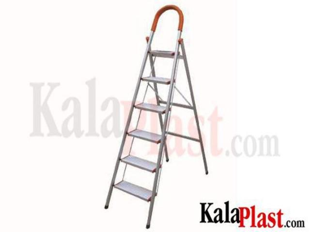 نردبان آلومینیومی 6 طبقه کد 103
