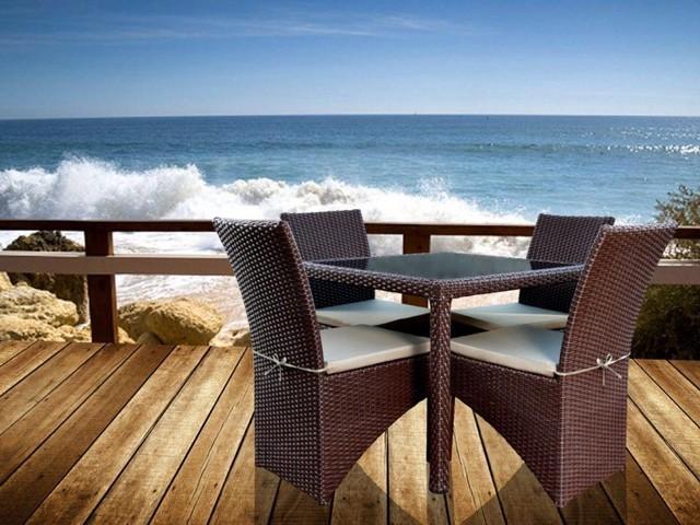 ست میز و صندلی فول کارنز 4 نفره