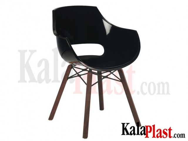 صندلی دسته دار پلی کربنات اپال وکس