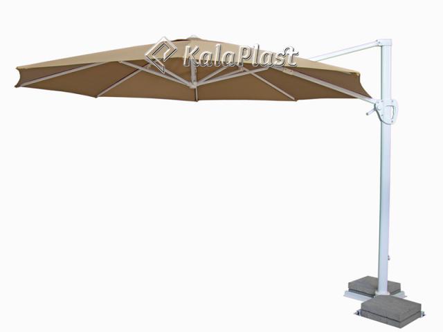 چتر پایه کنار تمام آلومینیونم کاترینا قطر 3.5 متر